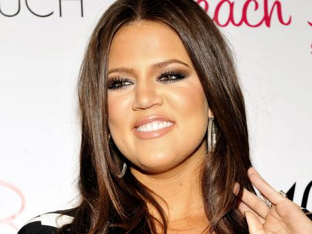 LOS ANGELES, CA - APRIL 27: Khloe Kardashian poses for a picture at the Beach Bunny Swimwear's grand opening party on April 27, 2010 in Los Angeles, California.