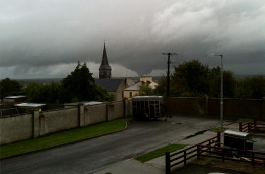 In some areas – including Banagher in Offaly - there were as yet unconfirmed reports of mini tornadoes
