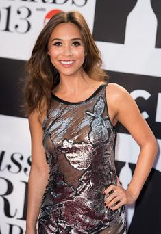 Myleene Klass attends the Classic BRIT Awards 2013 at the Royal Albert Hall on October 2, 2013 in London, England. (Photo by Ian Gavan/Getty Images)