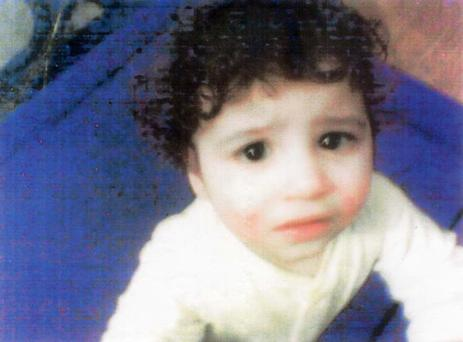 Hamzah Khan, whose decomposed body was discovered in a travel cot