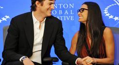 Ashton Kutcher and Demi Moore were married for six years.