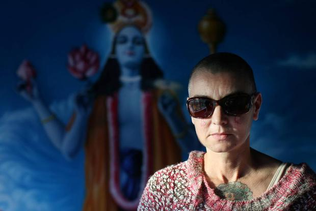 Sinead O'Connor Picture By David Conachy. 4/10/2013