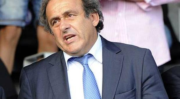 Michel Platini is head of UEFA
