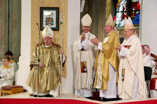 Newly ordained Bishop Francis Duffy Bishop of Ardagh and Clonmacnois