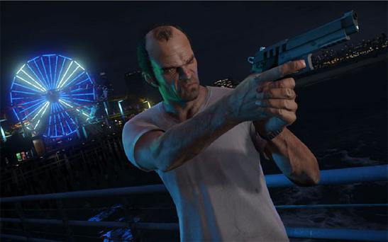 Trevor, one of the characters in Best Game winner GTA5