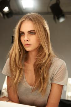 Cara Delevingne has been nominated as model of the year.