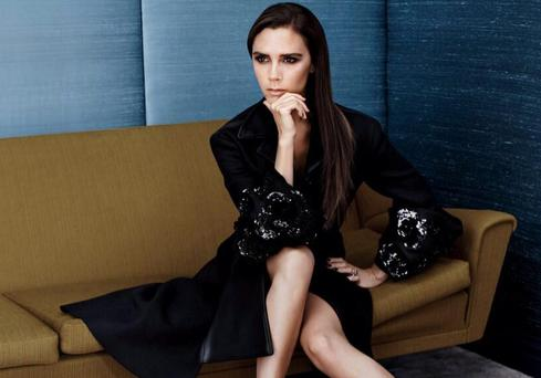 Victoria Beckham's sister line has increased her firm's profits. Picture: Vogue China