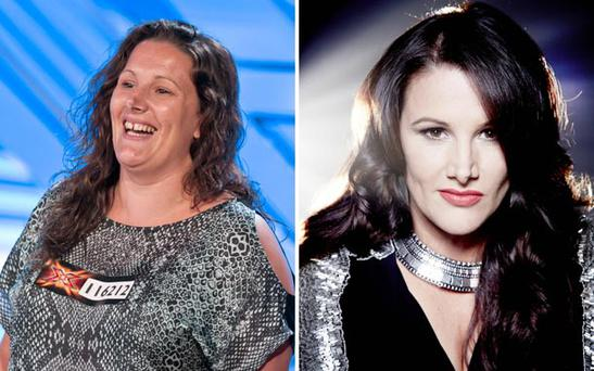 From prison officer to popstar... Sam Bailey won this year's X Factor