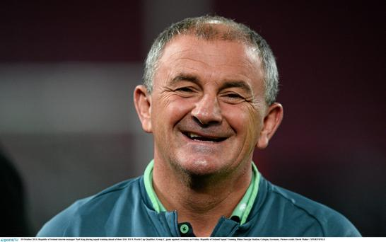 Republic of Ireland interim manager Noel King