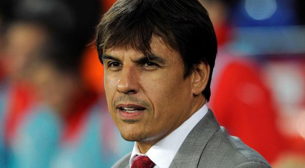 Wales' manager Chris Coleman