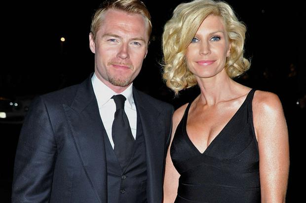 Ronan Keating with his ex-wife Yvonne