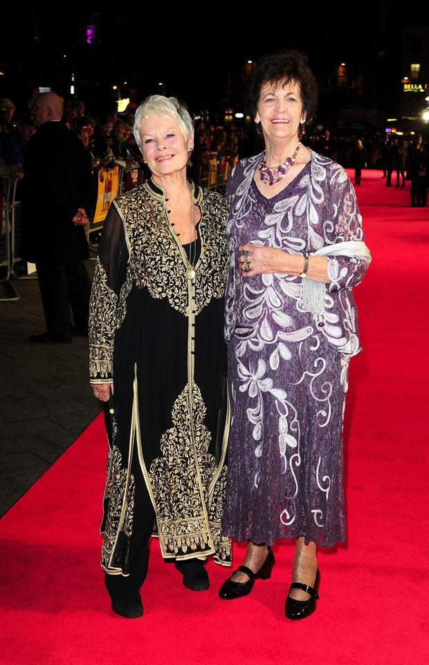 Dame Judi Dench and Philomena Lee attending a gala screening for new film Philomena at the Odeon Cinema in London