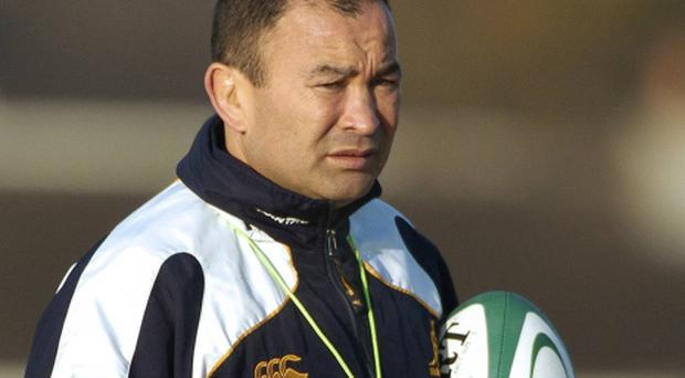 Former Australia head coach Eddie Jones