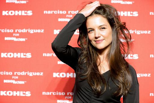 Katie Holmes is said to be pursuing George Clooney