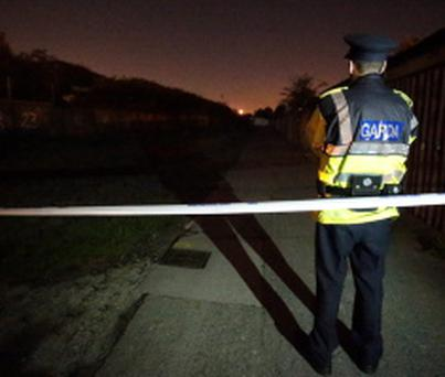 Gardai are investigating a hit and run on Trinity Lane, off Clonliffe Road in Dublin. Picture:Arthur Carron/Collins