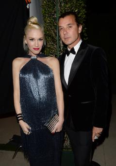 BEVERLY HILLS, CA - OCTOBER 17: Gwen Stefani (L) and Gavin Rossdale, wearing Ferragamo, arrive at the Wallis Annenberg Center for the Performing Arts Inaugural Gala presented by Salvatore Ferragamo at the Wallis Annenberg Center for the Performing Arts on October 17, 2013 in Beverly Hills, California. (Photo by Jason Merritt/Getty Images for Wallis Annenberg Center for the Performing Arts)
