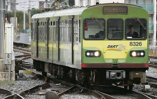 Dart services disrupted over bank holiday weekend