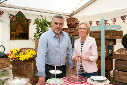 Show judges Paul Hollywood and Mary Berry