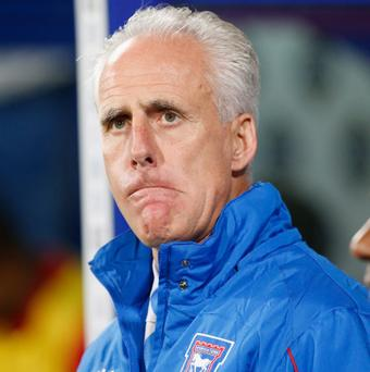 Ipswich manager Mick McCarthy. Picture credit: Tom Shaw/Getty Images