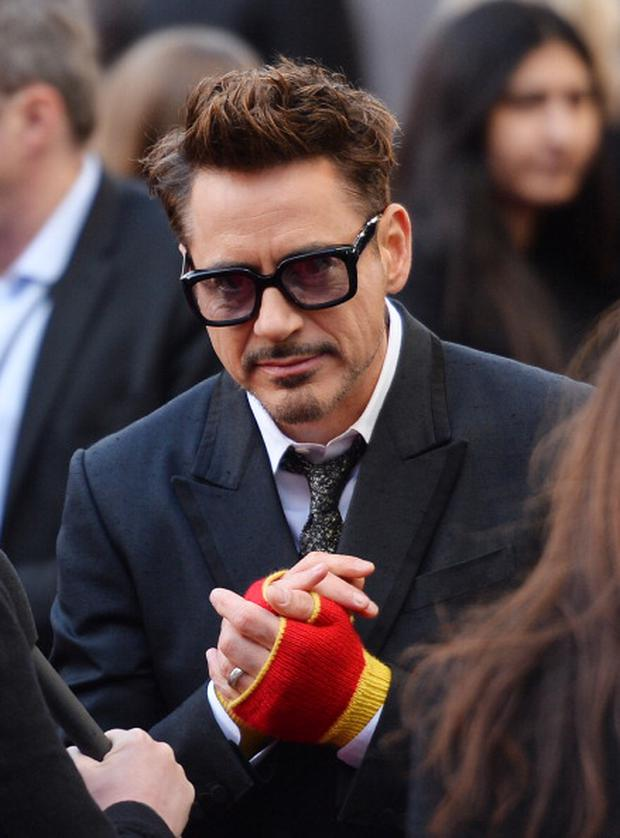 US actor Robert Downey Jr