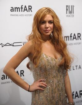 Lindsay Lohan. STAN HONDA/AFP/Getty Images