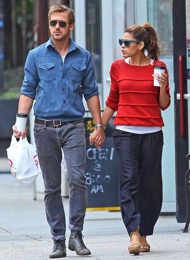 Ryan Gosling and Eva Mendes have been together for two years