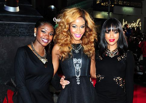 X Factor contestants SeSe Foster, Janette Akua and Rielle Carrington of Miss Dynamix