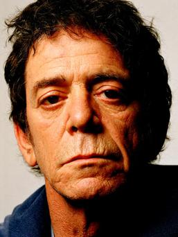 UNITED KINGDOM - MAY 01: BARBICAN Photo of Lou REED (Photo by Eamonn McCabe/Redferns)