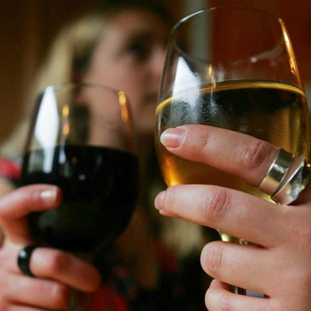 Wine drinkers Cathal McNaughton/PA Wire