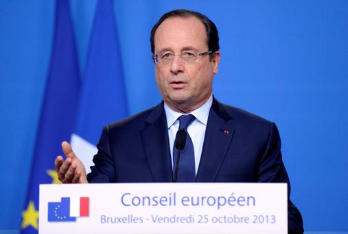 France's President Francois Hollande is not connecting with voters