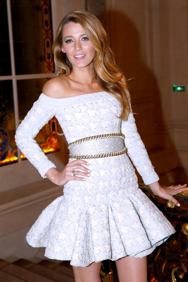 620ae6b932207 Blake Lively attends the presentation announcing her as the new L Oreal  Paris Egerie for
