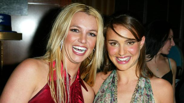 Who knew they were friends? Britney Spears and Natalie Portman