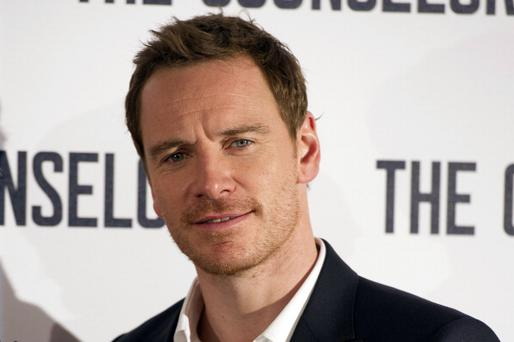 Michael Fassbender. CARL COURT/AFP/Getty Images)