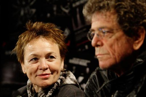 Laurie Anderson has penned a touching tribute about her late husband Lou Reed in an open letter to her neighbours. (Photo by Brendon Thorne/Getty Images)