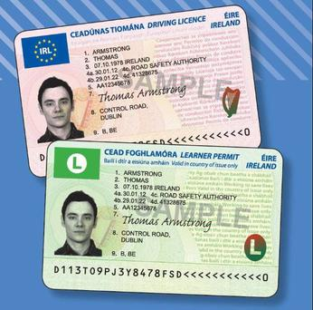 The new-look driving licences