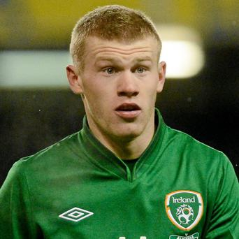 James McClean. Picture: Brian Lawless/ SPORTSFILE