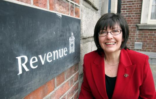 Josephine Feehily, the Chairman of the Revenue Commissioners
