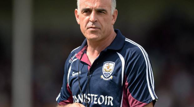 Galway manager Anthony Cunningham