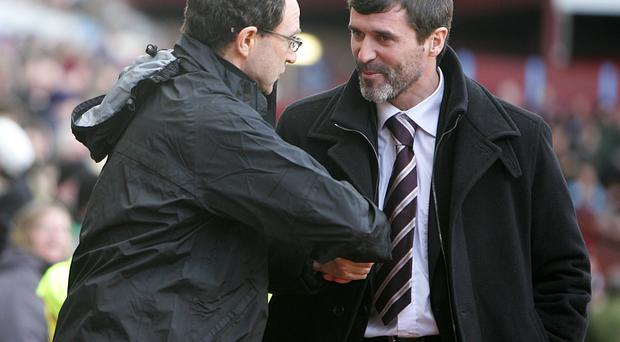 Martin O'Neill and Roy Keane will soon be working together in the Ireland set-up