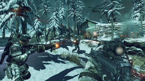 Call of Duty: Ghosts - multiplayer mode