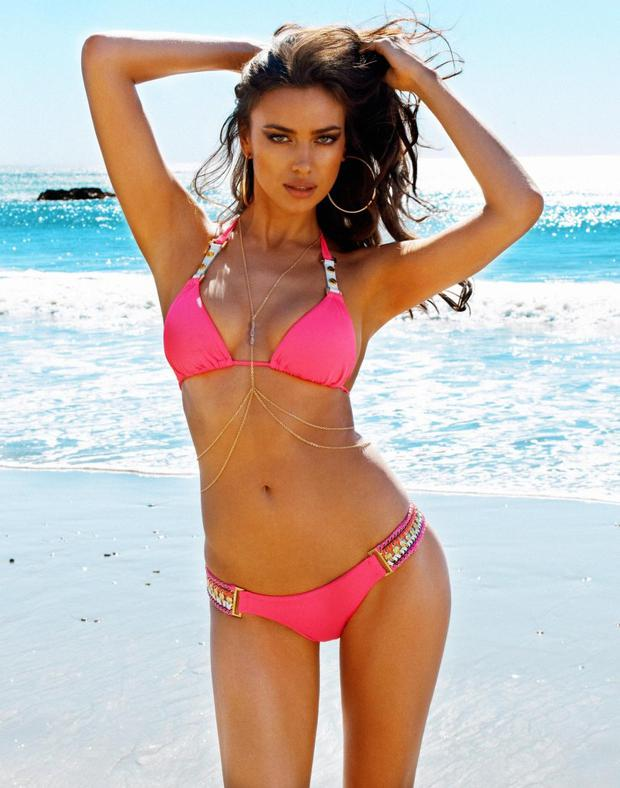 Irina is the face of swimsuit range Beach Bunny