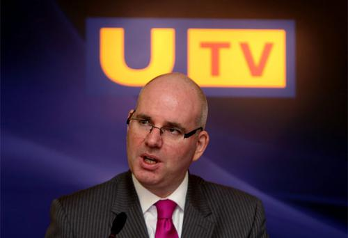 Managing Director of UTV Television Michael Wilson; the group has seen their revenue increase in the first three months of the year