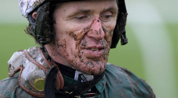 AP McCoy following the RABI Gateway Project Maiden Hurdle Race at Chepstow Racecourse, Monmouthshire