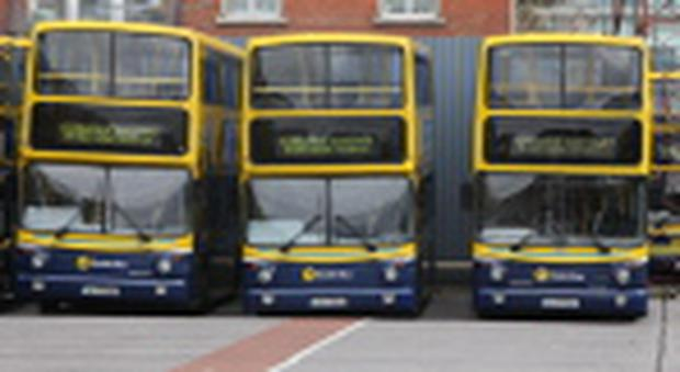 Dublin Bus parked up