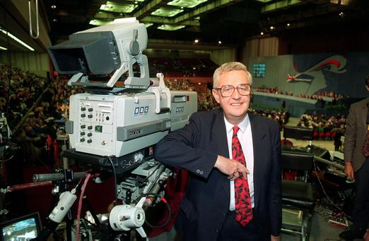 Former BBC Political Editor John Cole pictured in 1992