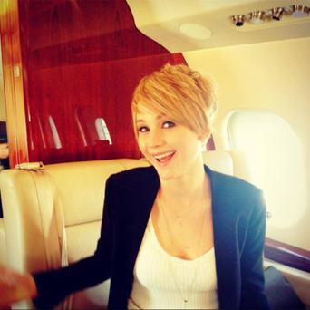 Jennifer Lawrence's big chop Photo: Jennifer Lawrence Facebook