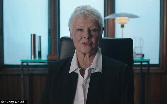 Judi Dench back as M in the Funny or Die sketch