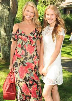 Christie Brinkley and daughter Sailor