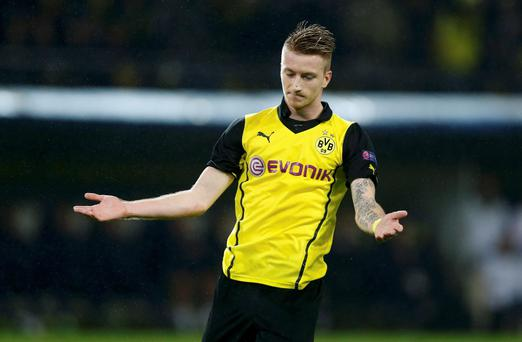 Borussia Dortmund's Marco Reus is a possible transfer target for United