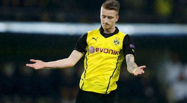 Borussia Dortmund's Marco Reus is a transfer target